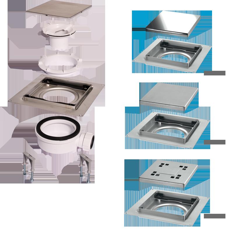 V lvulas ducha v lvulas platos ducha sifones canaletas for Accesorios para platos de ducha
