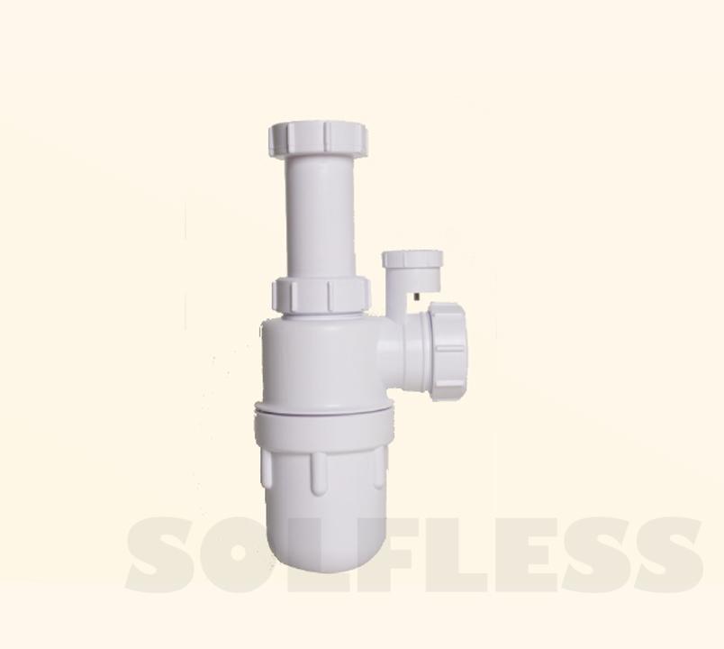 Sifón Botella Ext. ( Mod. OBI ) con Válvula Aireación