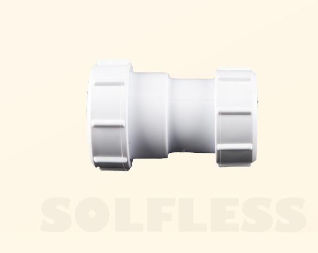 Enlace unión reductor tubo - tubo