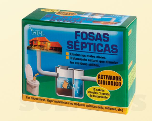 Activador biológico Fosas sépticas